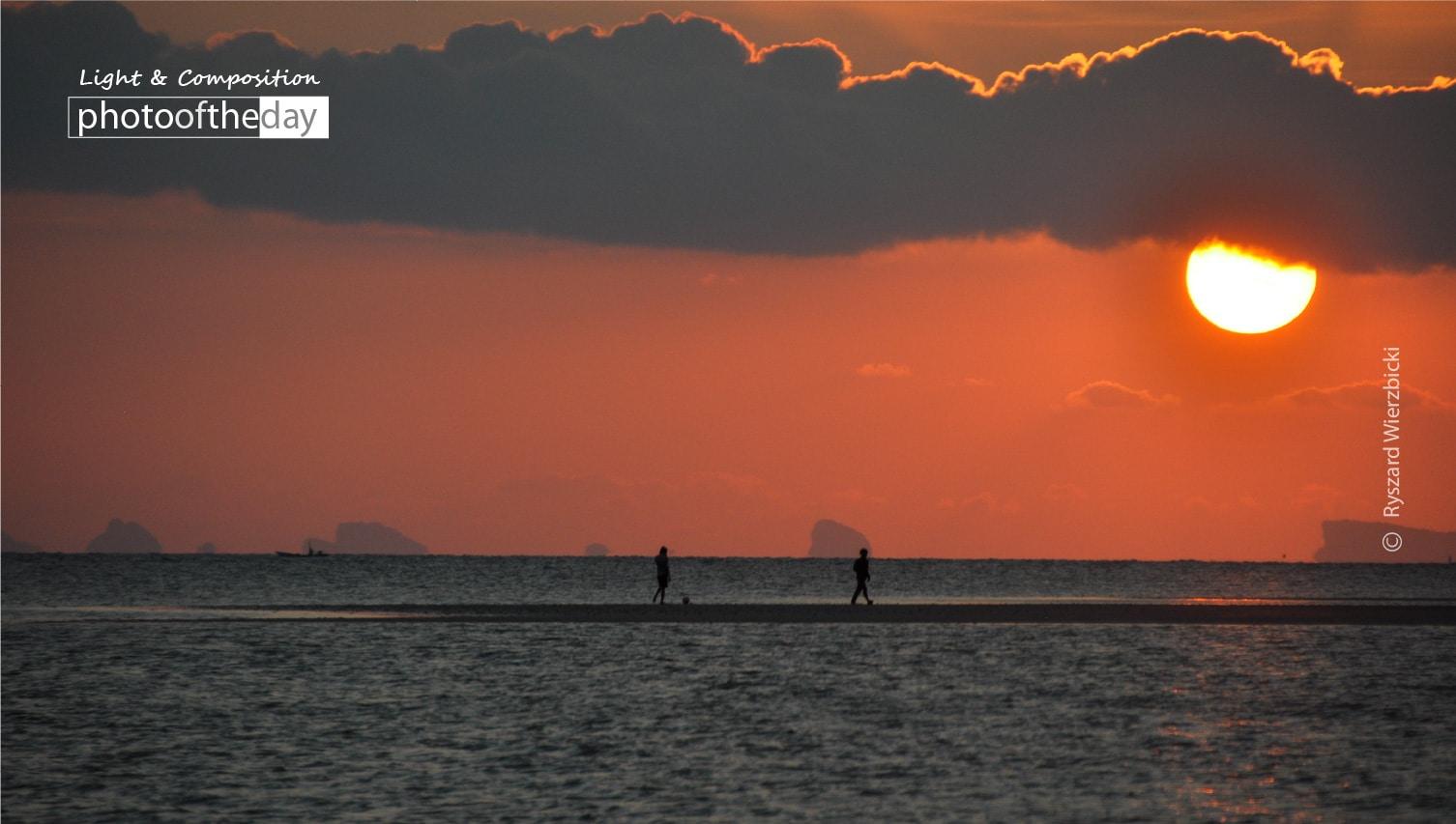 Phangan Sunset by Ryszard Wierzbicki