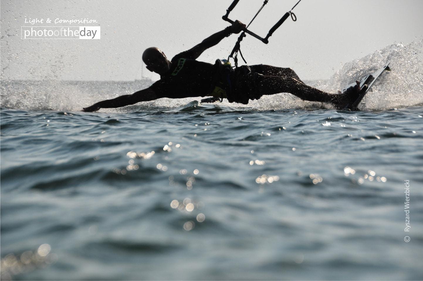 Water Sliding by Ryszard Wierzbicki