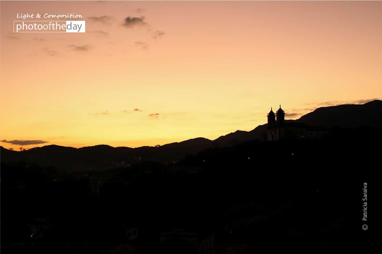 Sunset in Ouro Preto by Patricia Saraiva