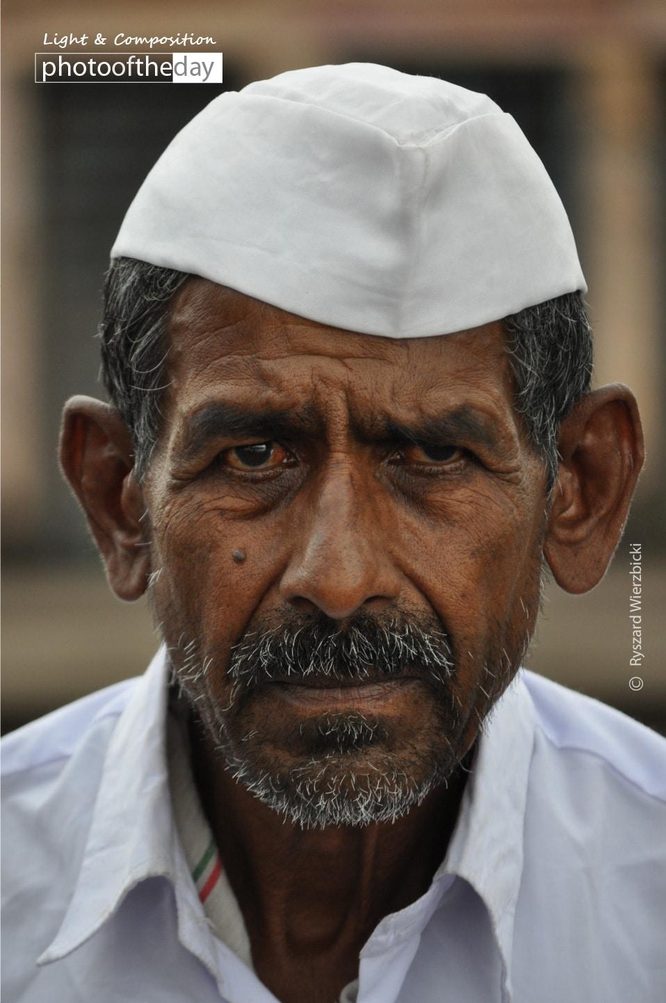 An Old Man from Pune by Ryszard Wierzbicki