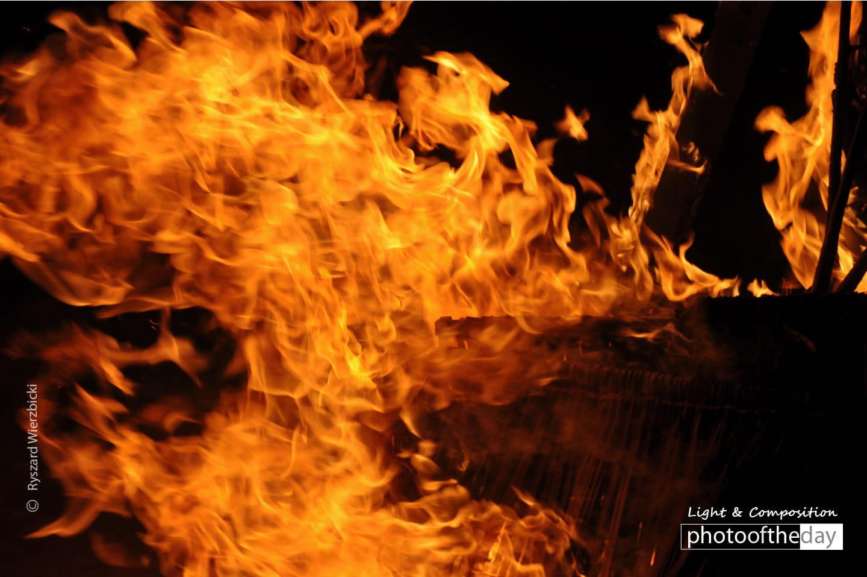 Fire by Ryszard Wierzbicki