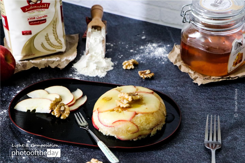 Apple Cake Template by Hanan AboRegela