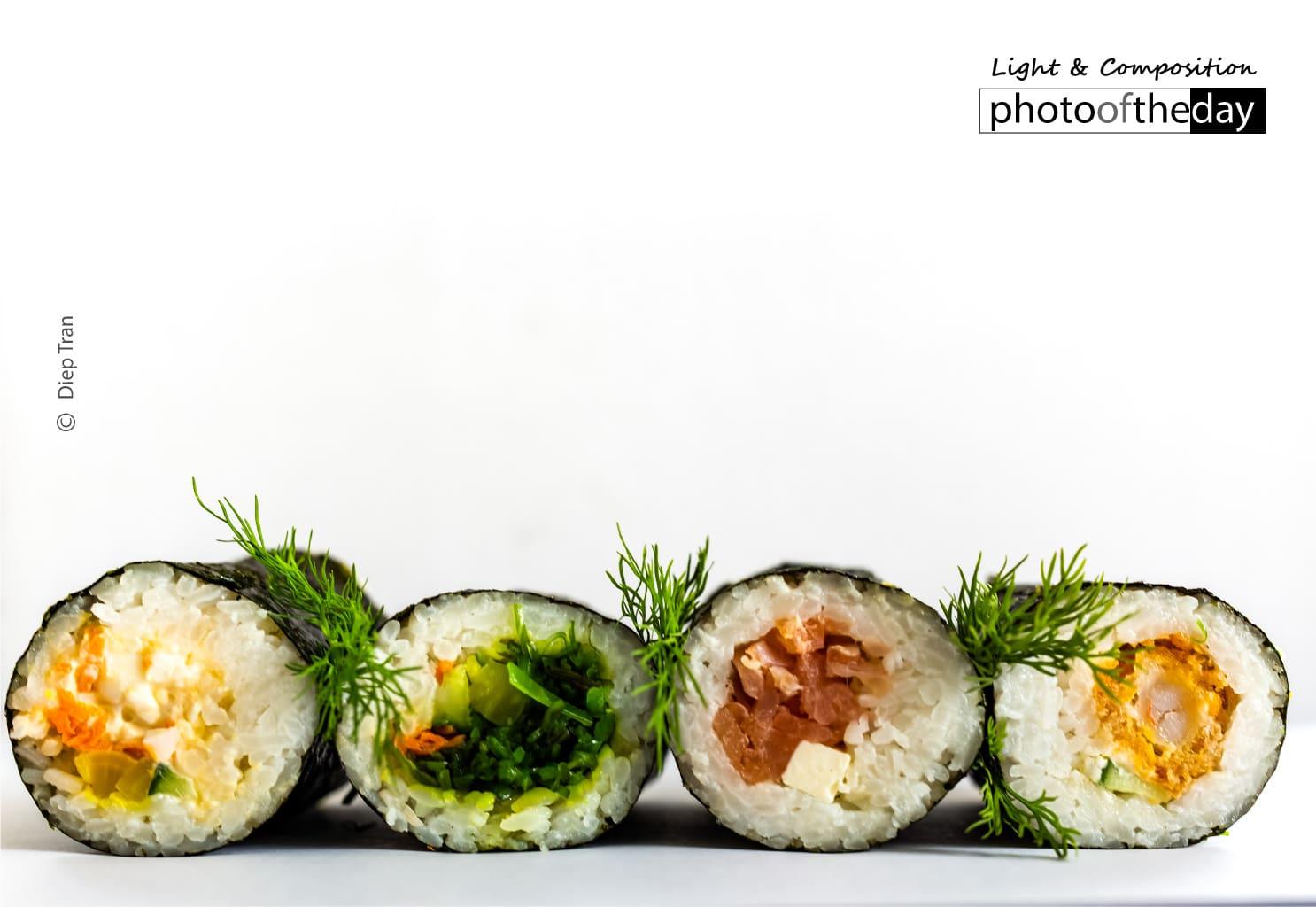 Yummy Sushi by Diep Tran