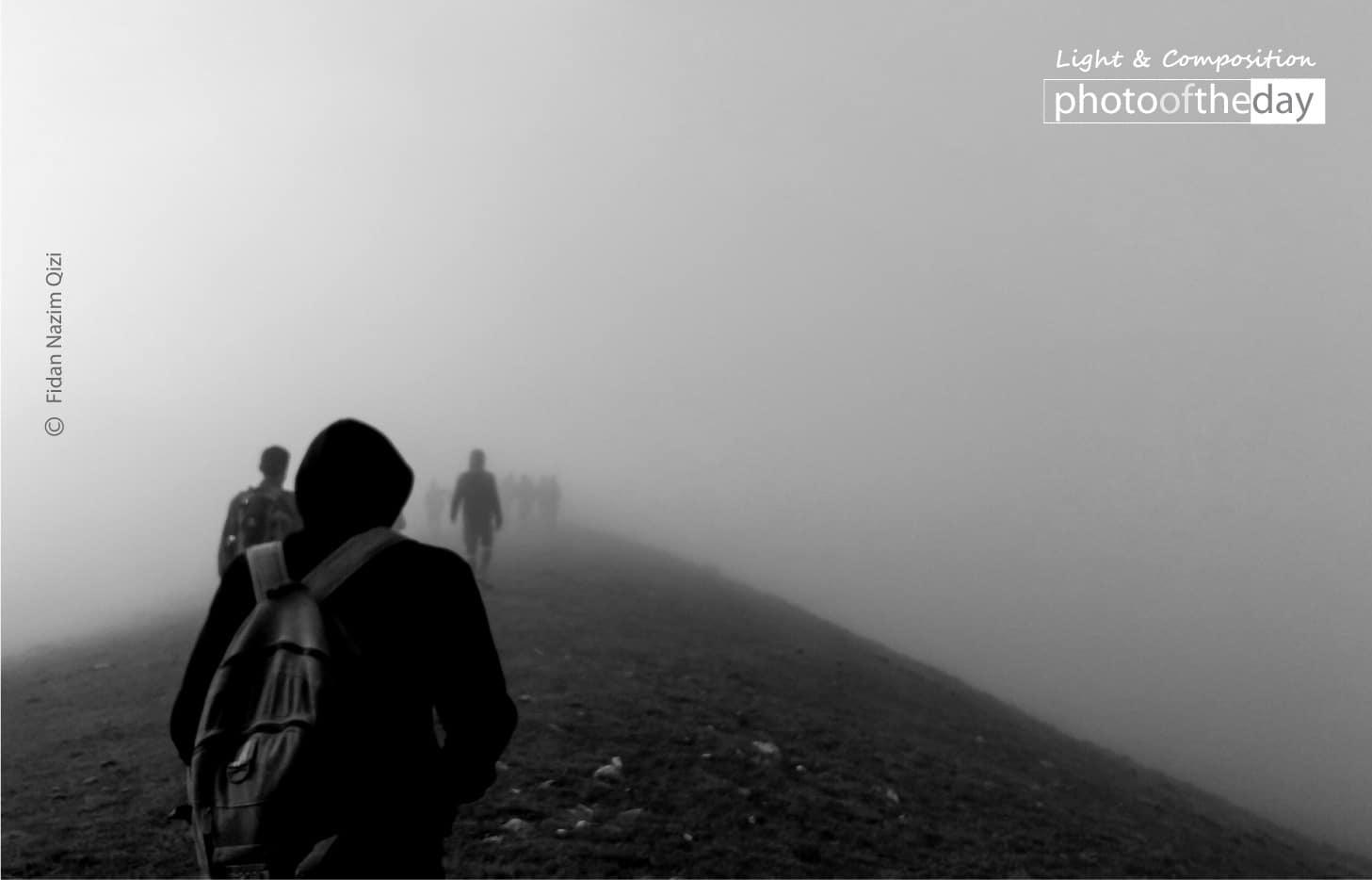 Fog in Mountains by Fidan Nazim Qizi