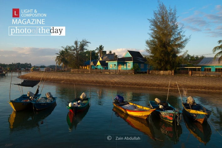 Kuala Besut Fishing Village, by Zain Abdullah