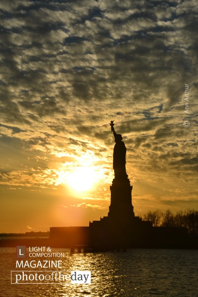 Liberty Sunset, by Ann Arthur