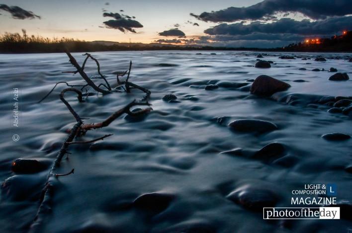 Draa River, by Abdellah Azizi