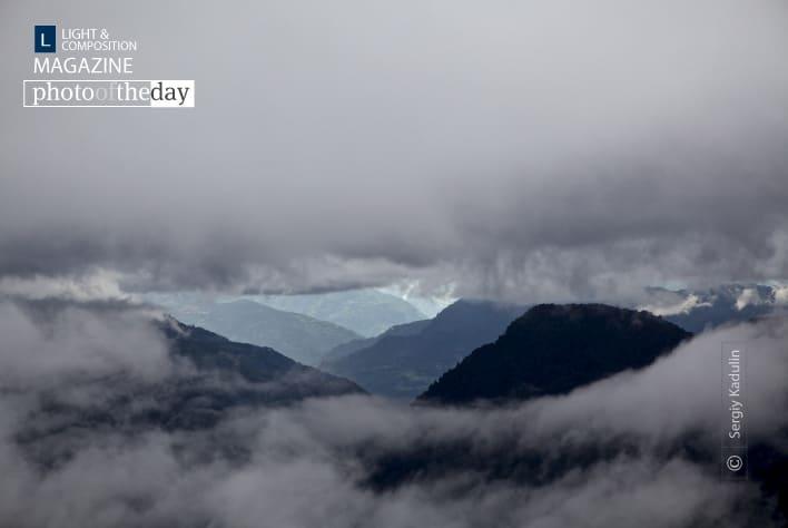 Himalayas through Storm Clouds, by Sergiy Kadulin