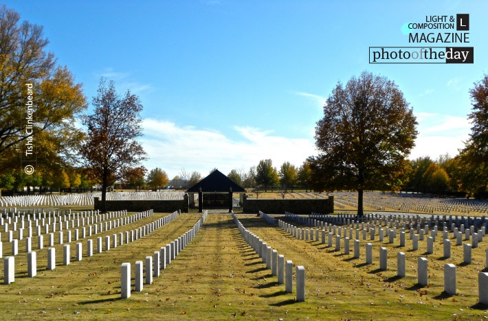 Fort Smith National Cemetery, by Tisha Clinkenbeard