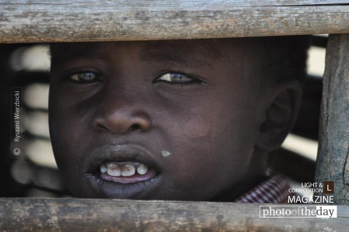A Maasai Student, by Ryszard Wierzbicki