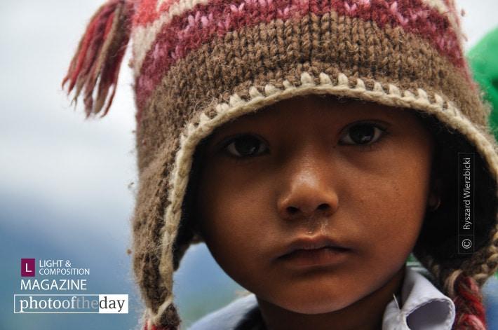 The Himalayan Girl, by Ryszard Wierzbicki