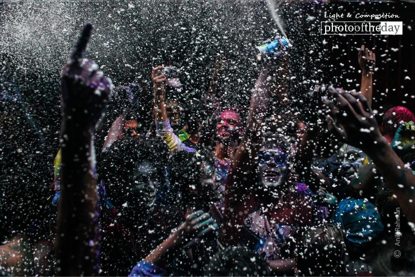 Holi Celebration in Bangladesh, by Anik Rahman