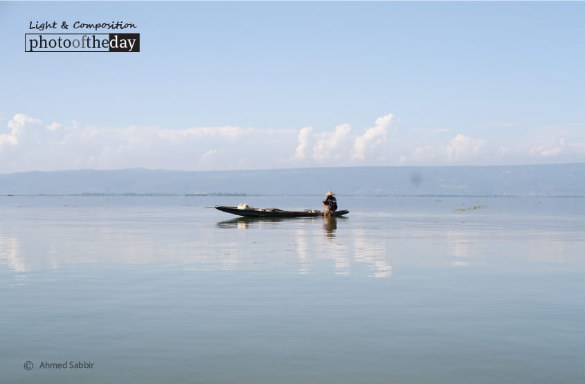 The Old Man and the Sea, by Ahmed Sabbir