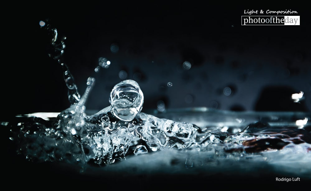 Playing with Waterdrops, by Rodrigo Luft
