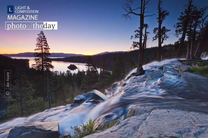 Dawn at Eagle Falls, by Joe Azure