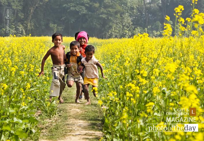 Make a Run by Shahnaz Parvin