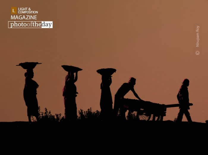 Silhouette Workers, by Nirupam Roy