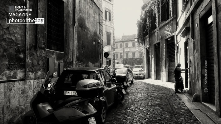 Via Margana, Roma, by Sébastien Beun