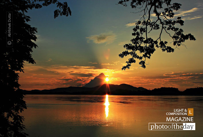 Golden Sunset, by Abhishek Dutta