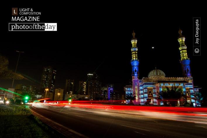 Sharjah Light Festival, by Joy Dasgupta