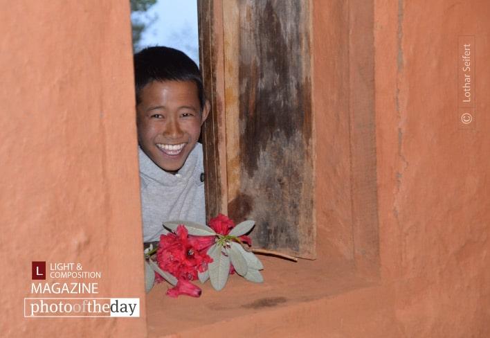 Boy from Nepal, by Lothar Seifert