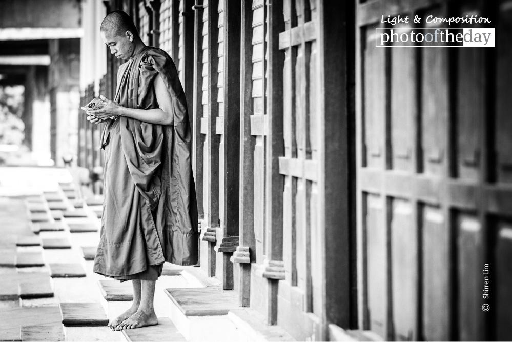 Tourist Monk, by Shirren Lim