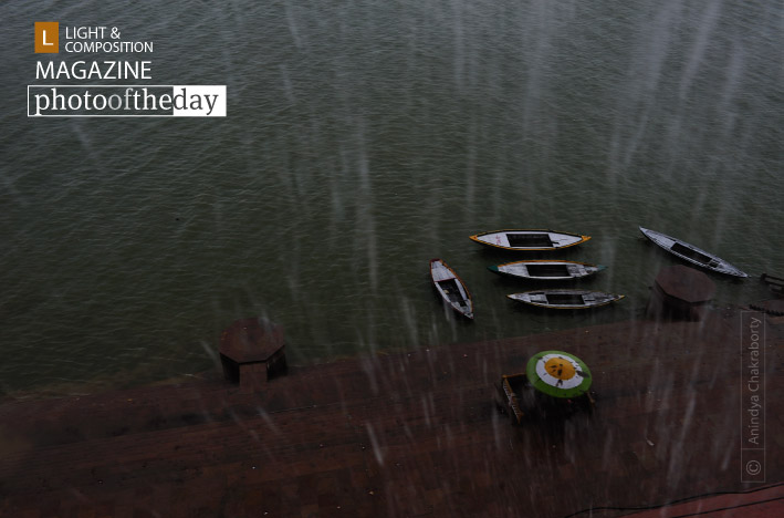 On a Rainy Day in Varanasi, by Anindya Chakraborty