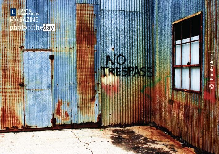 No Trespass, by Ronnie Glover