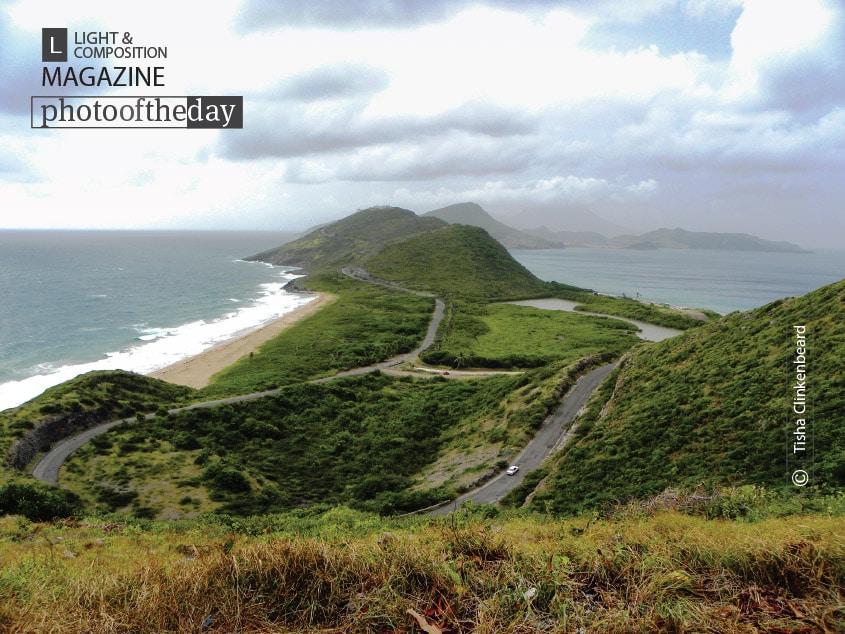 Caribbean and Atlantic Meet in St. Kitts, by Tisha Clinkenbeard