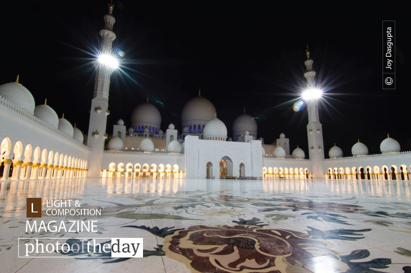 Sheikh Zayed Mosque, by Joy Dasgupta