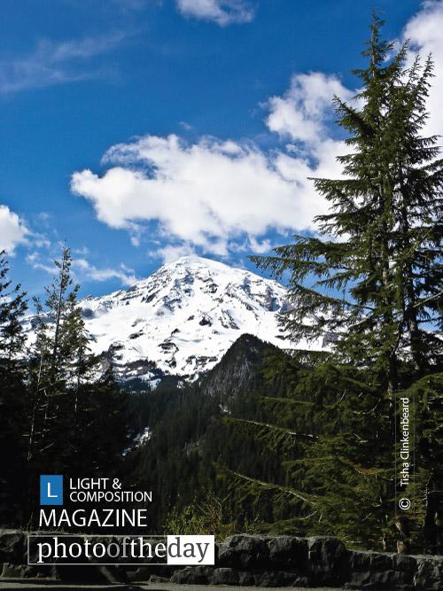 Mt Rainier, by Tisha Clinkenbeard