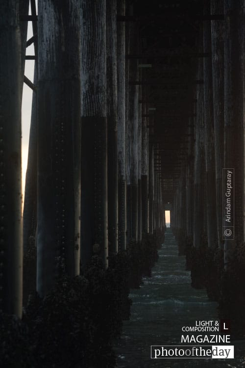 Under The Boardwalk, by Arindam Guptaray