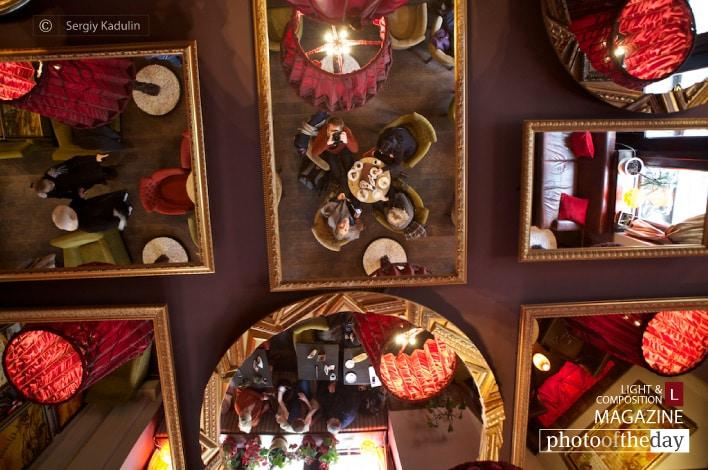 Coffee in Lviv Cafe, by Sergiy Kadulin