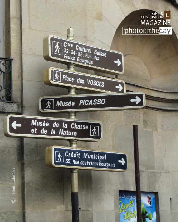 Directions in Paris, by Henri Coleman