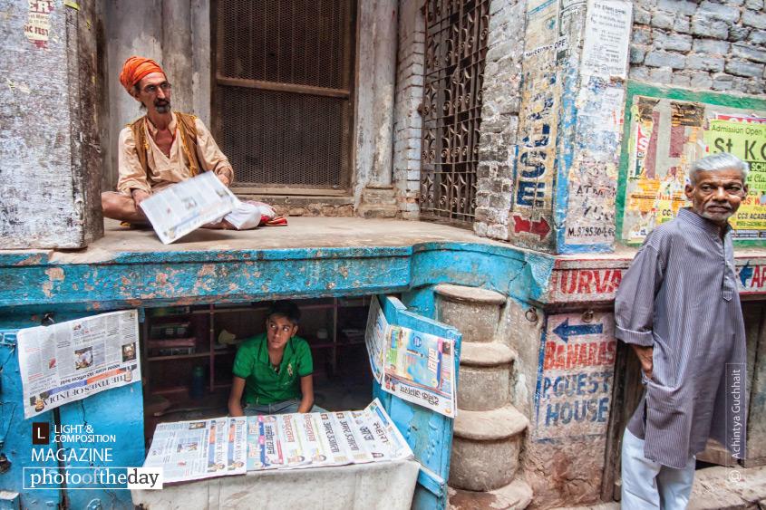The Morning News, by Achintya Guchhait