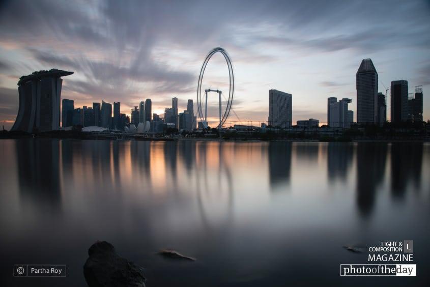 Burning City, by Partha Roy