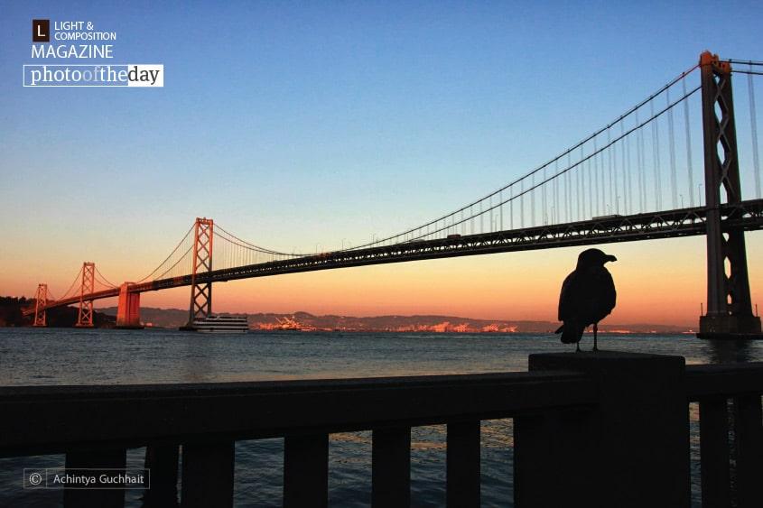 Bay Bridge at Sunset, by Achintya Guchhait