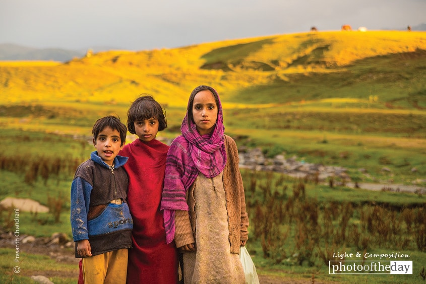 Kids from Gulmarg, by Prasanth Chandran