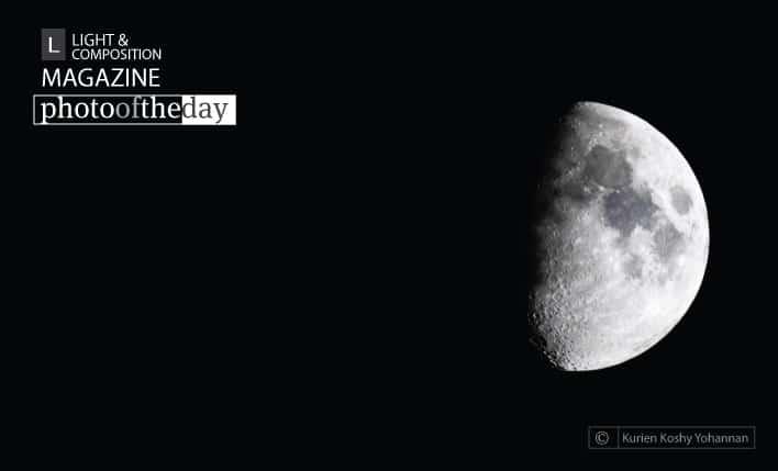 Lunar Phase, by Kurien Koshy Yohannan