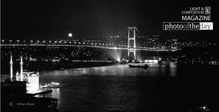 Istanbul by Night, by Orhan Aksel