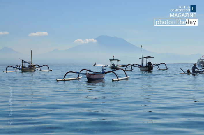 Balinese Boats, by Ryszard Wierzbicki