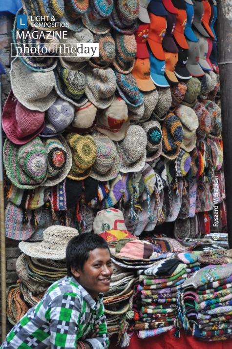 Hats Shop, by Ryszard Wierzbicki