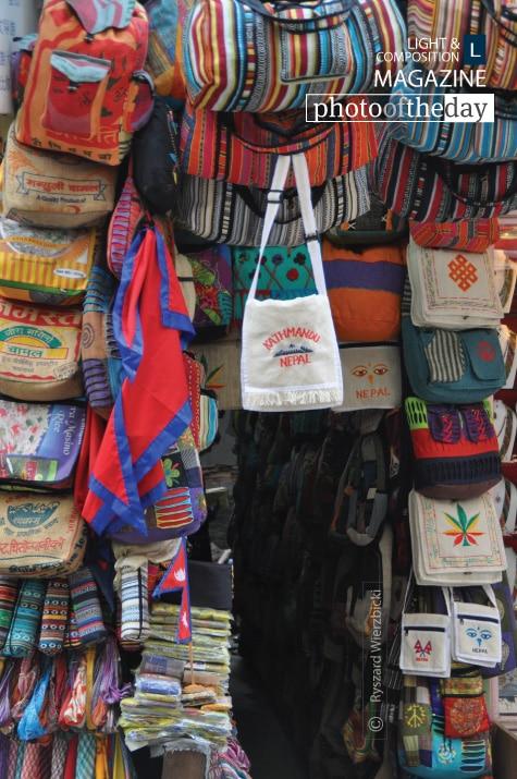 Bags Booth, by Ryszard Wierzbicki