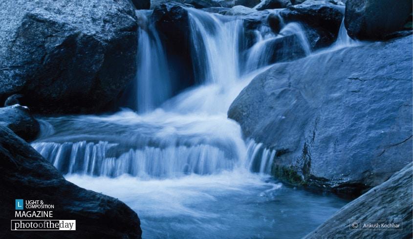 Waterfall, by Ankush Kochhar