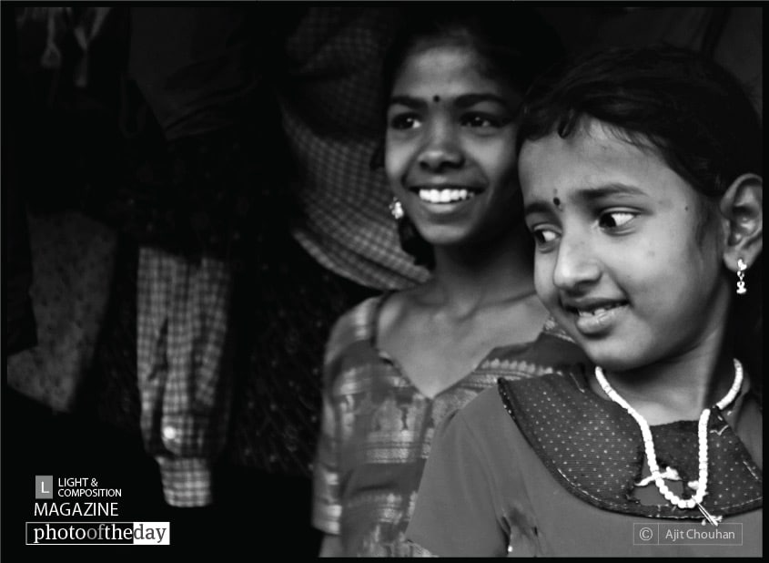 Pretty Children, by Ajit Chouhan