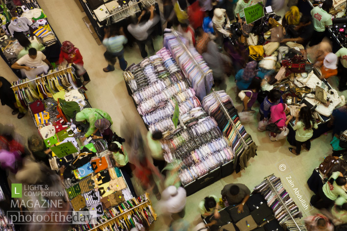 Shopping Frenzy, by Zain Abdullah