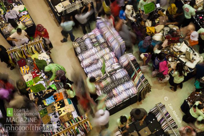 Shopping Frenzy, by Zain Abdullah