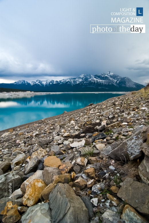 Lake Abraham, by Arnab Pal