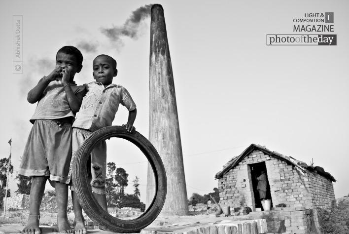 Caustic Childhood, by Abhishek Dutta