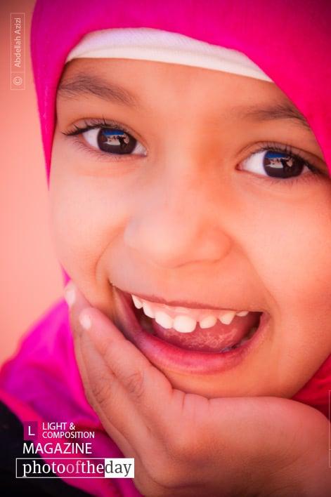 Moroccan Girl, by Abdellah Azizi